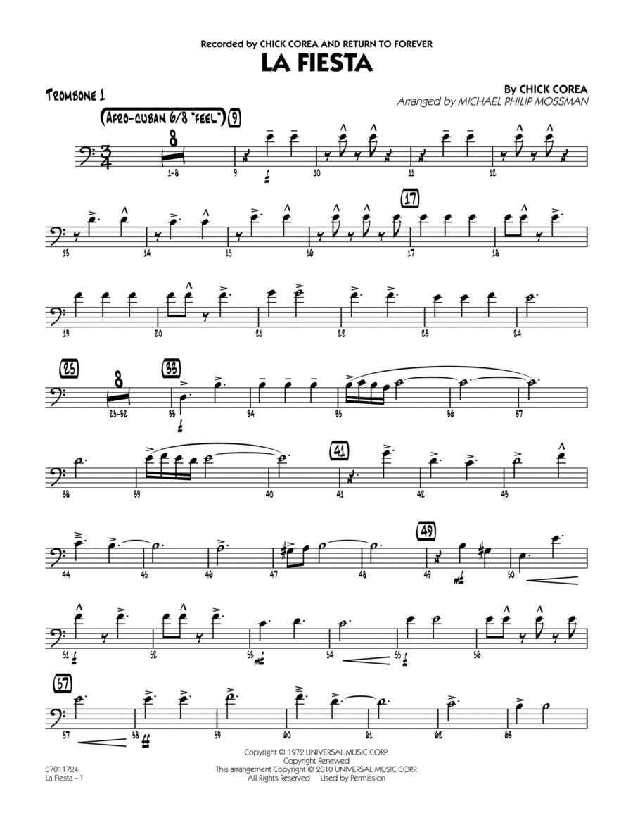 La Fiesta - Trombone 1