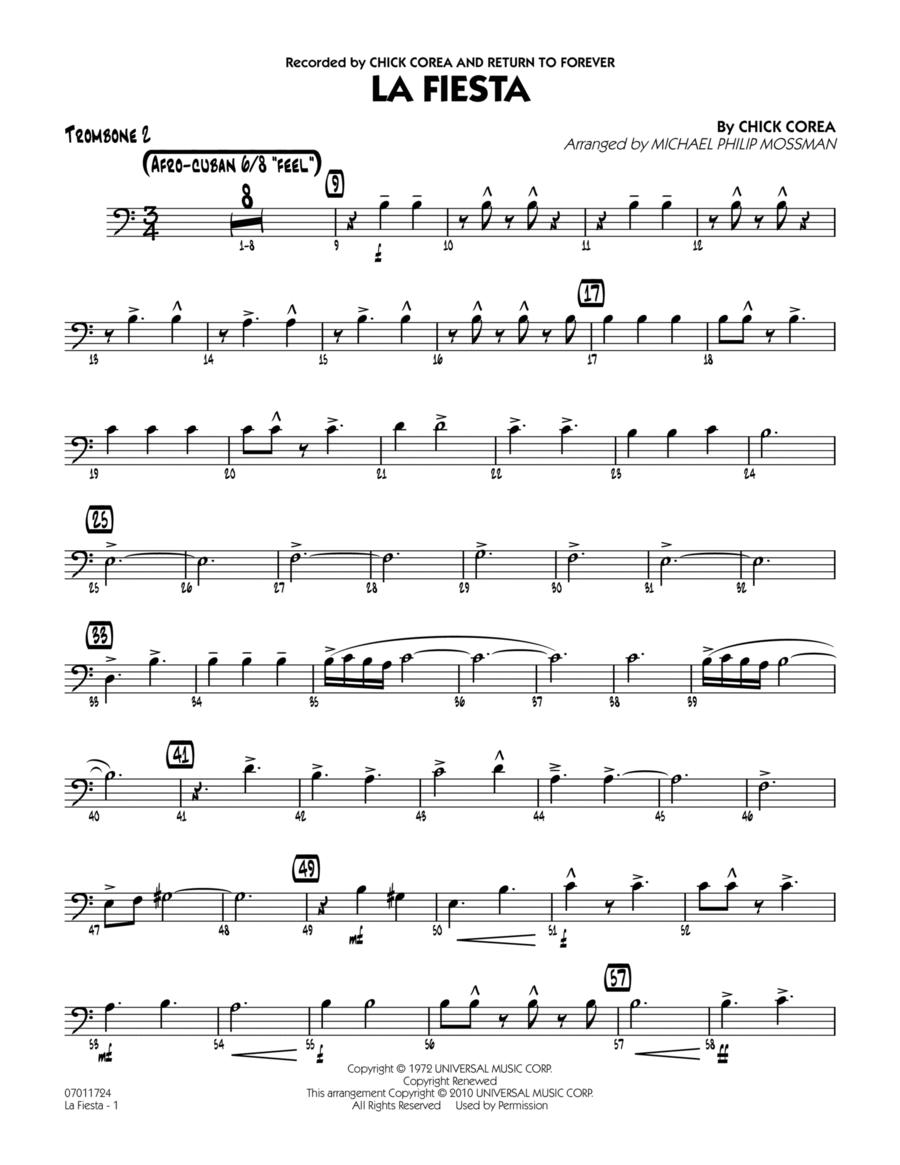 La Fiesta - Trombone 2