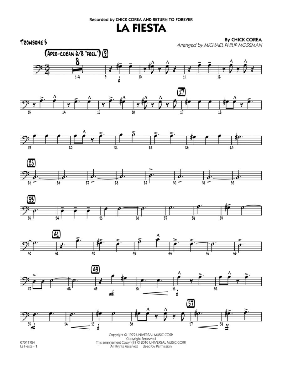 La Fiesta - Trombone 3