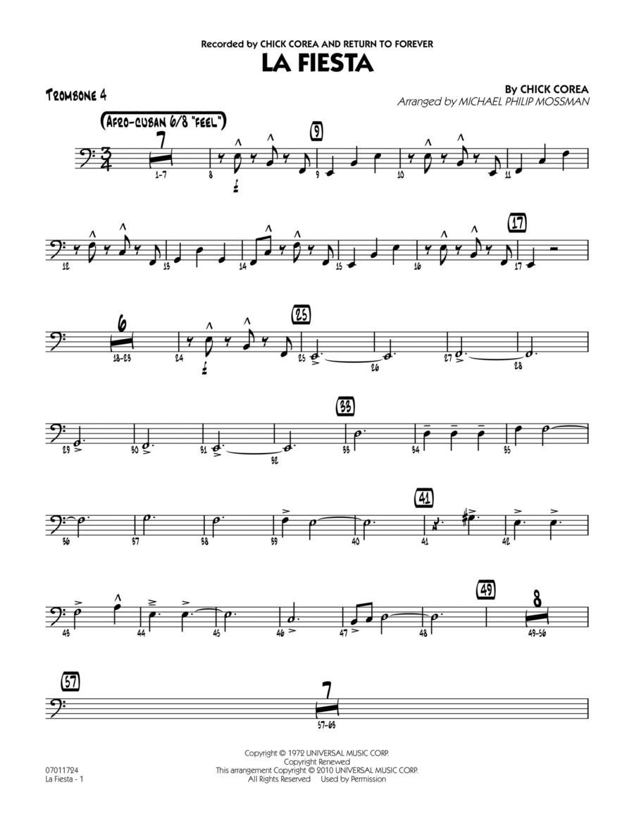 La Fiesta - Trombone 4
