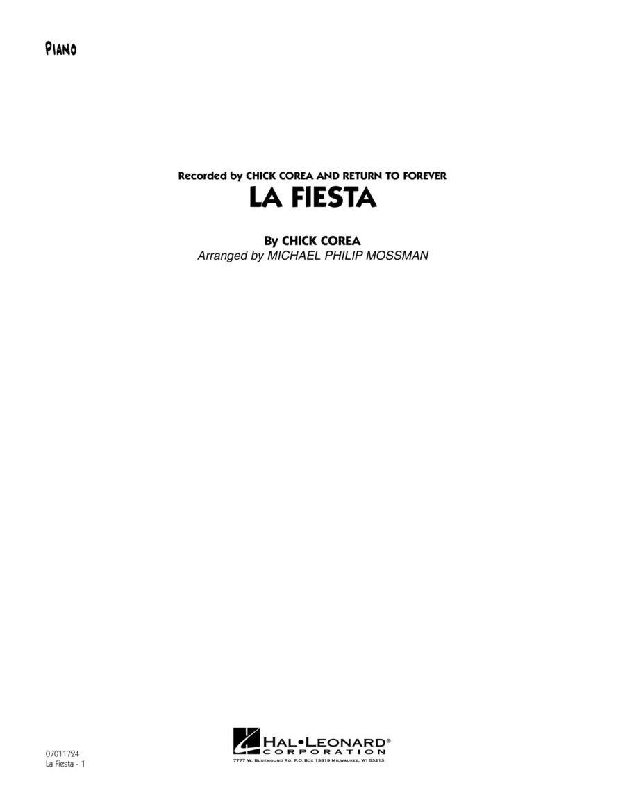 La Fiesta - Piano