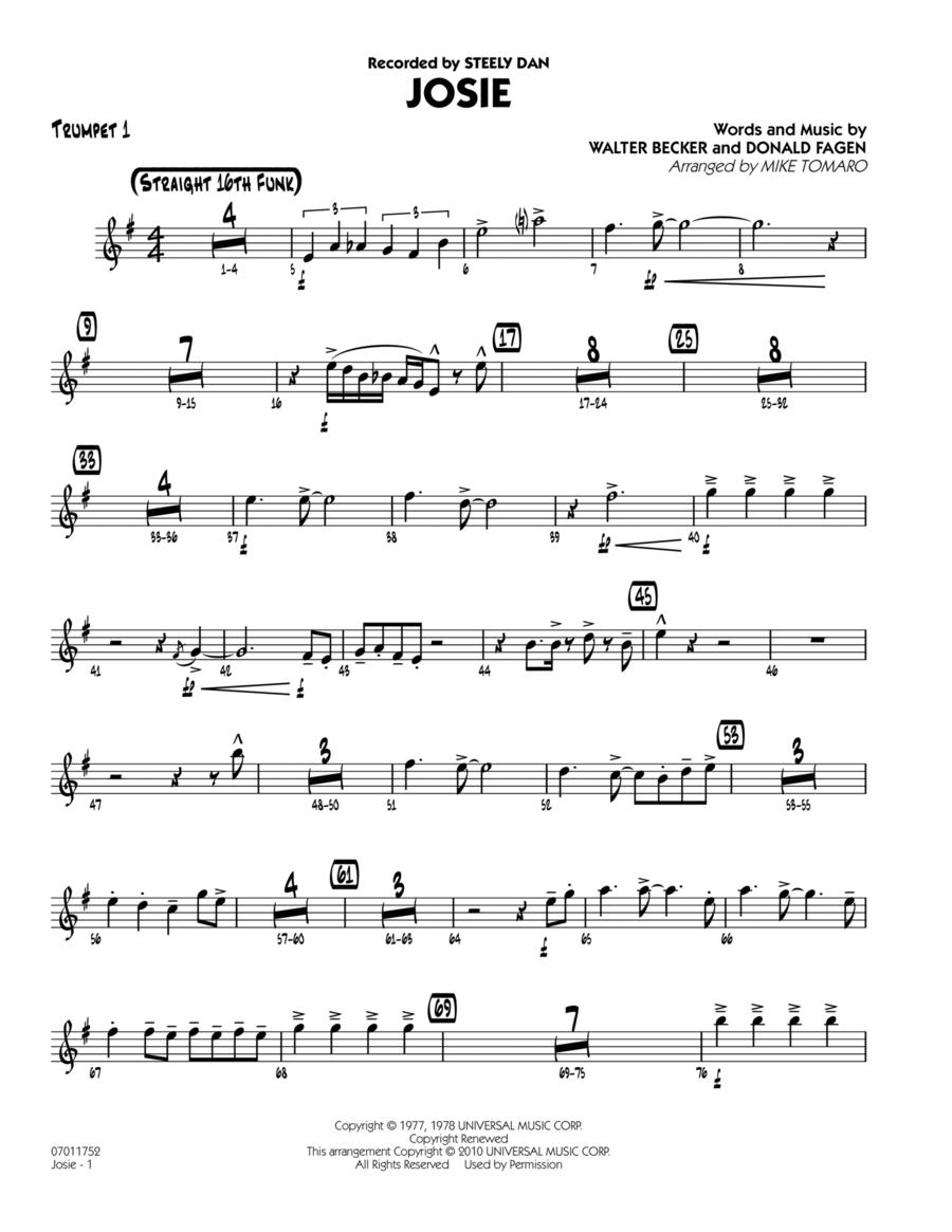 Josie - Trumpet 1