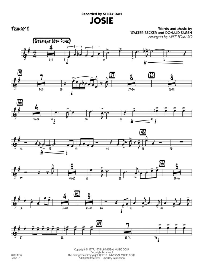 Josie - Trumpet 2