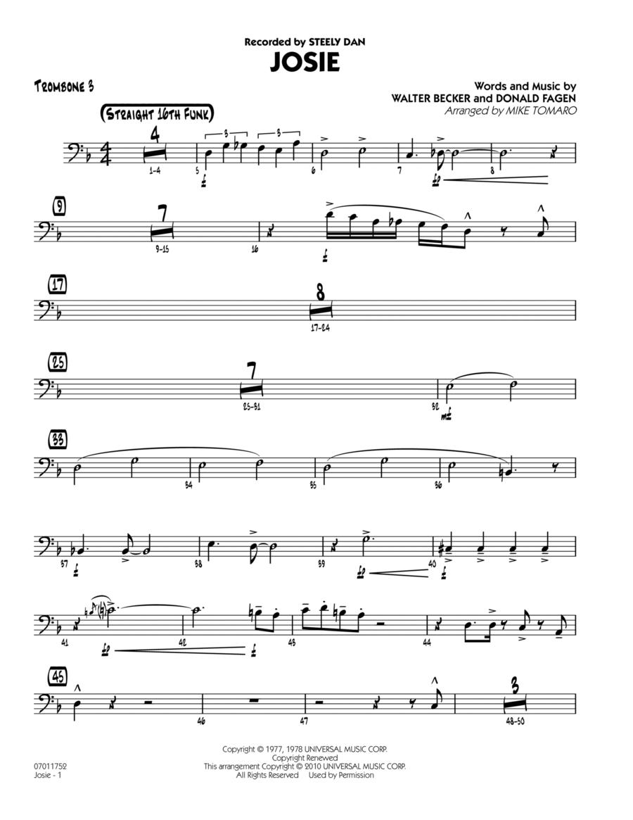 Josie - Trombone 3