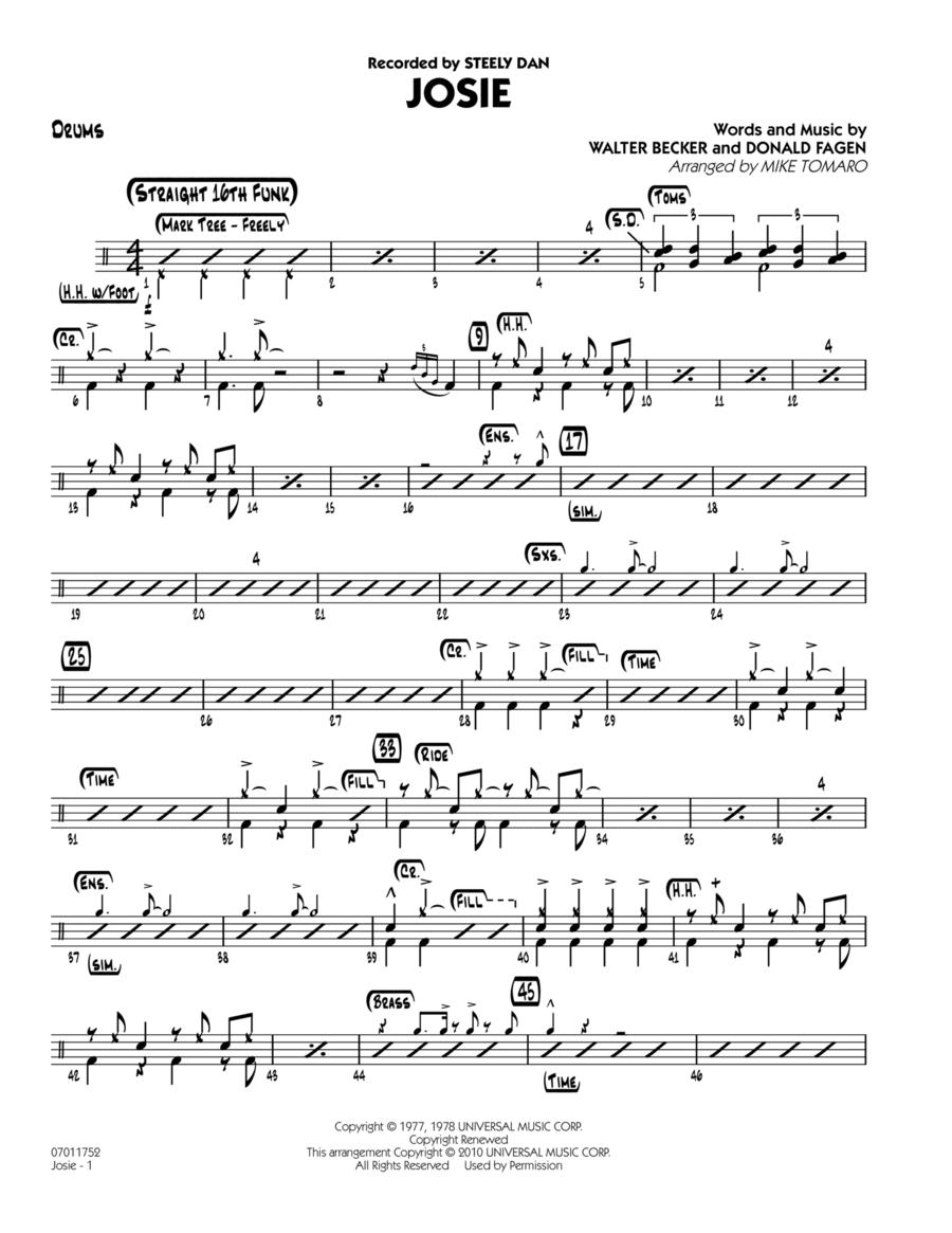 Josie - Drums