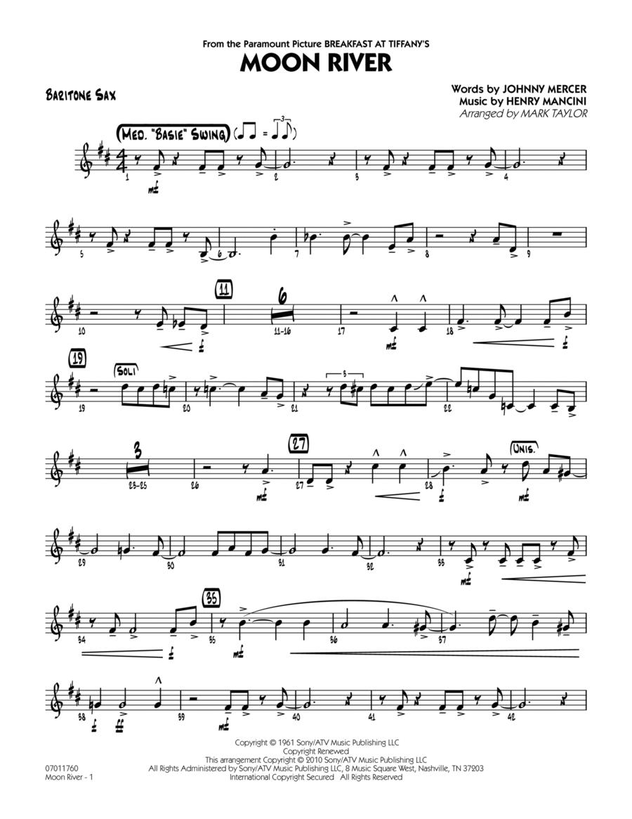 Moon River - Baritone Sax