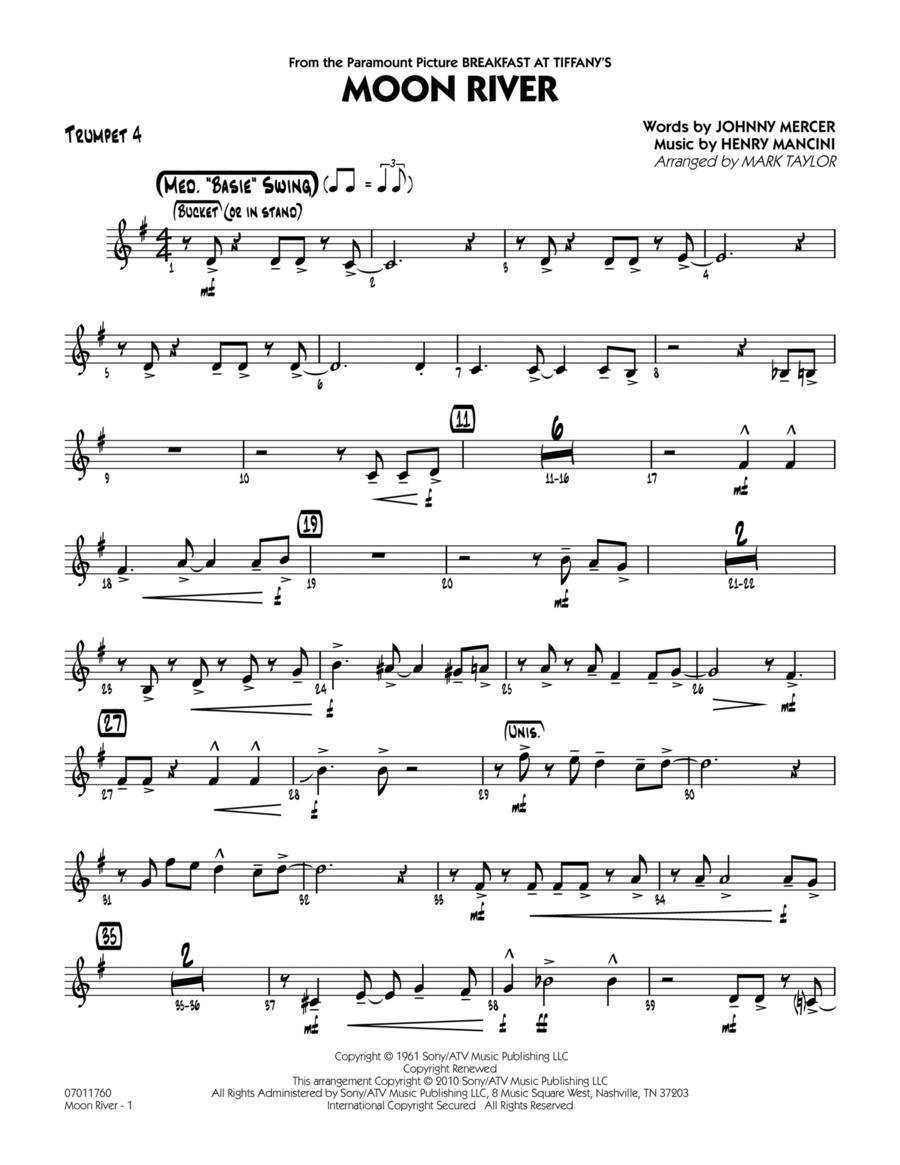 Moon River - Trumpet 4