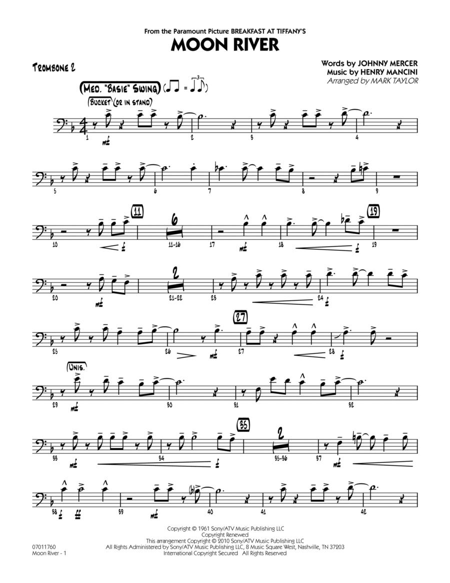 Moon River - Trombone 2