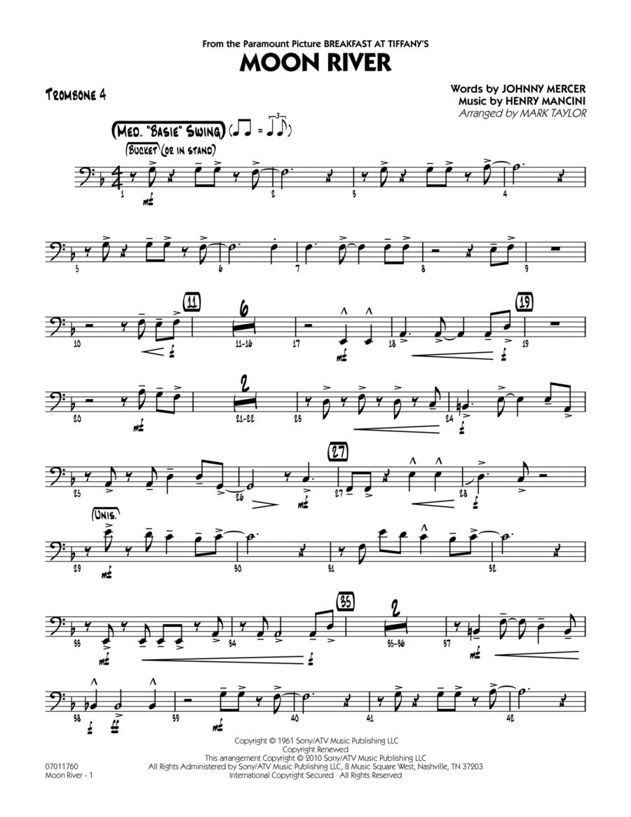 Moon River - Trombone 4