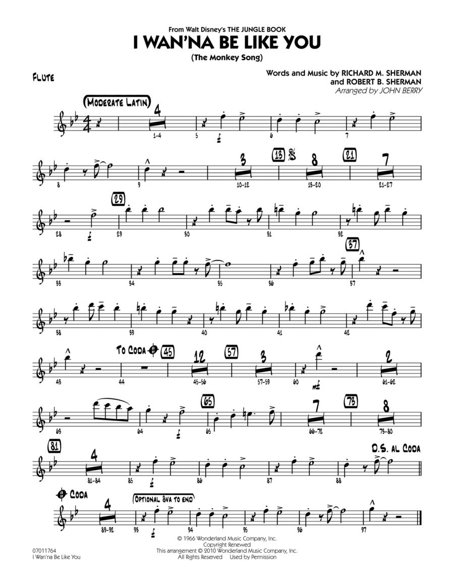 I Wan'na Be Like You (The Monkey Song) - Flute