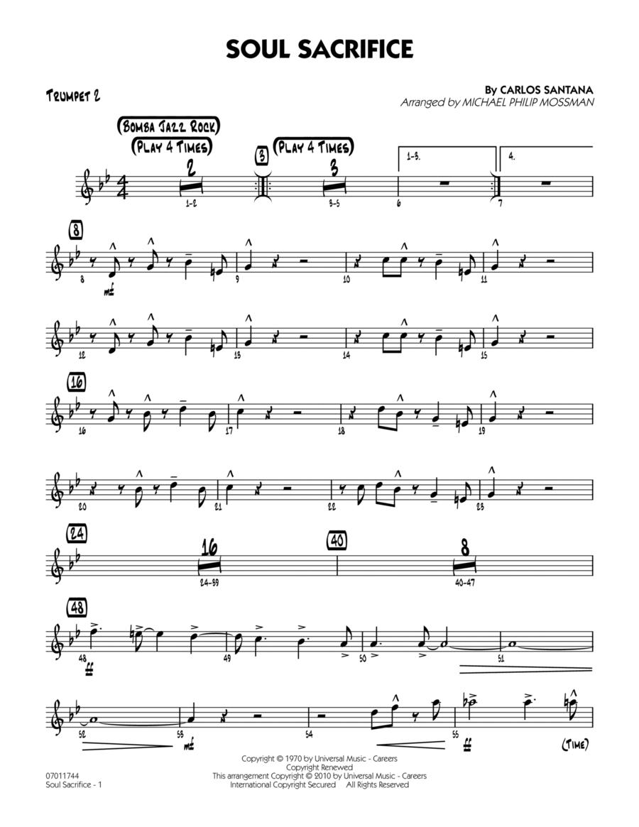 Soul Sacrifice - Trumpet 2
