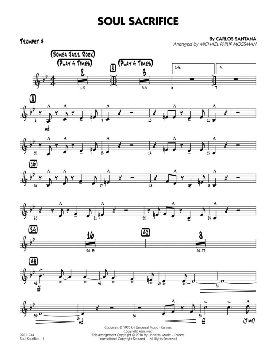 Soul Sacrifice - Trumpet 4