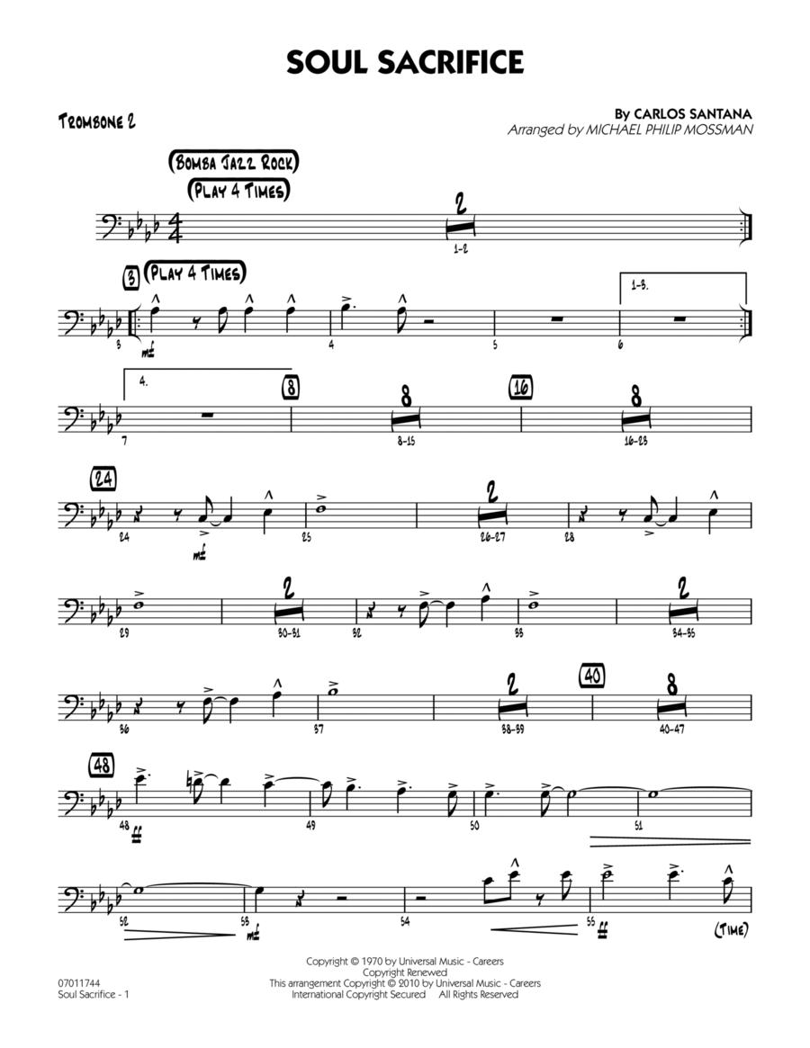 Soul Sacrifice - Trombone 2