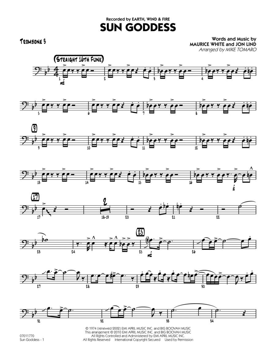 Sun Goddess - Trombone 3