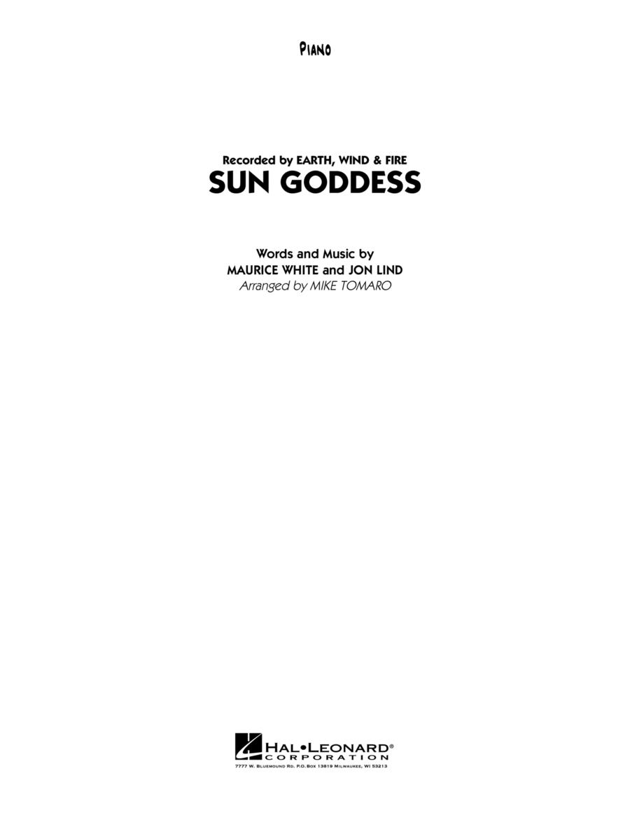 Sun Goddess - Piano