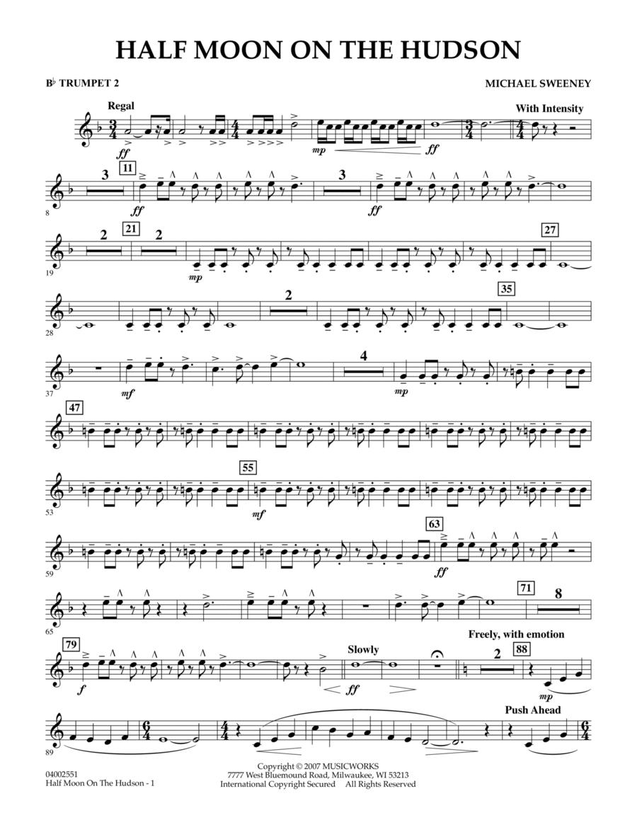 Half Moon On The Hudson - Bb Trumpet 2