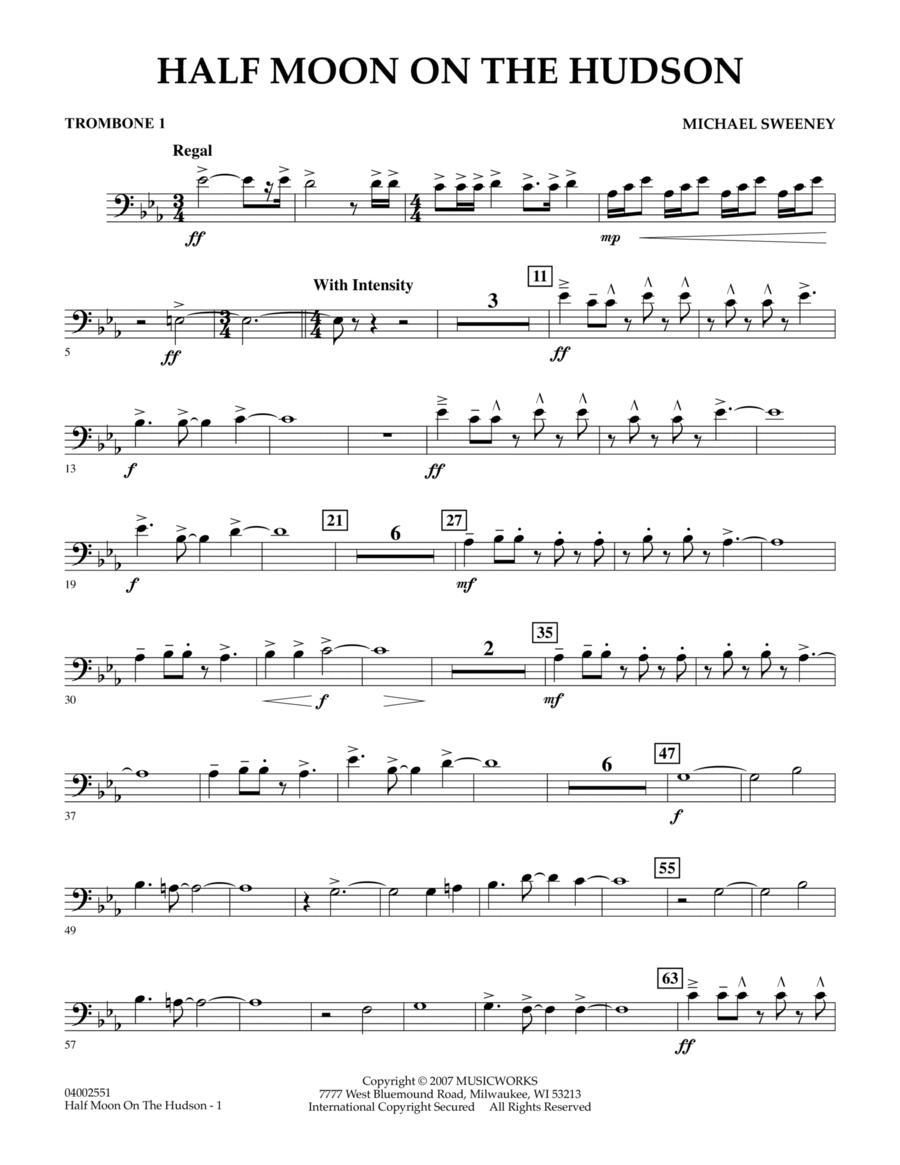 Half Moon On The Hudson - Trombone 1