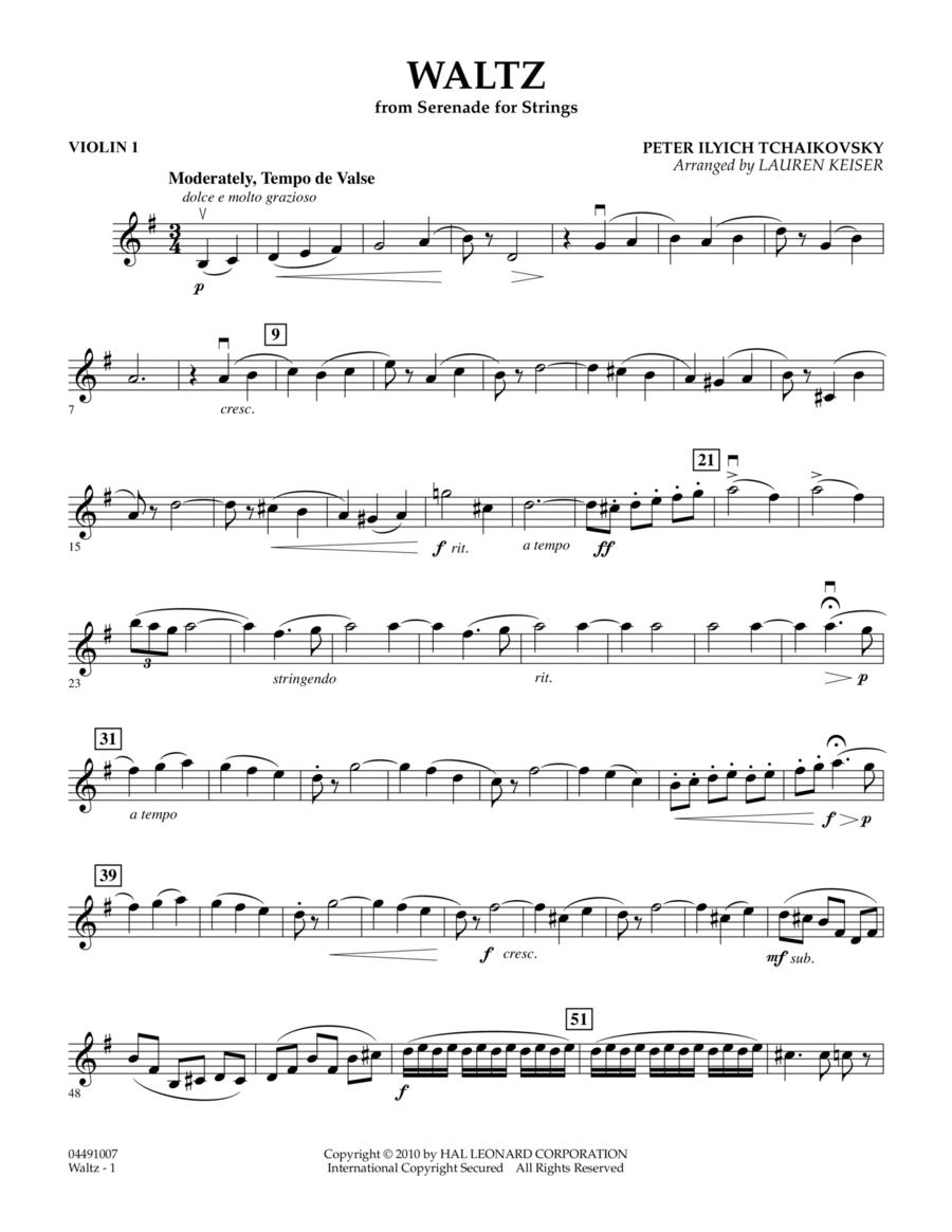 Waltz (from Serenade For Strings) - Violin 1