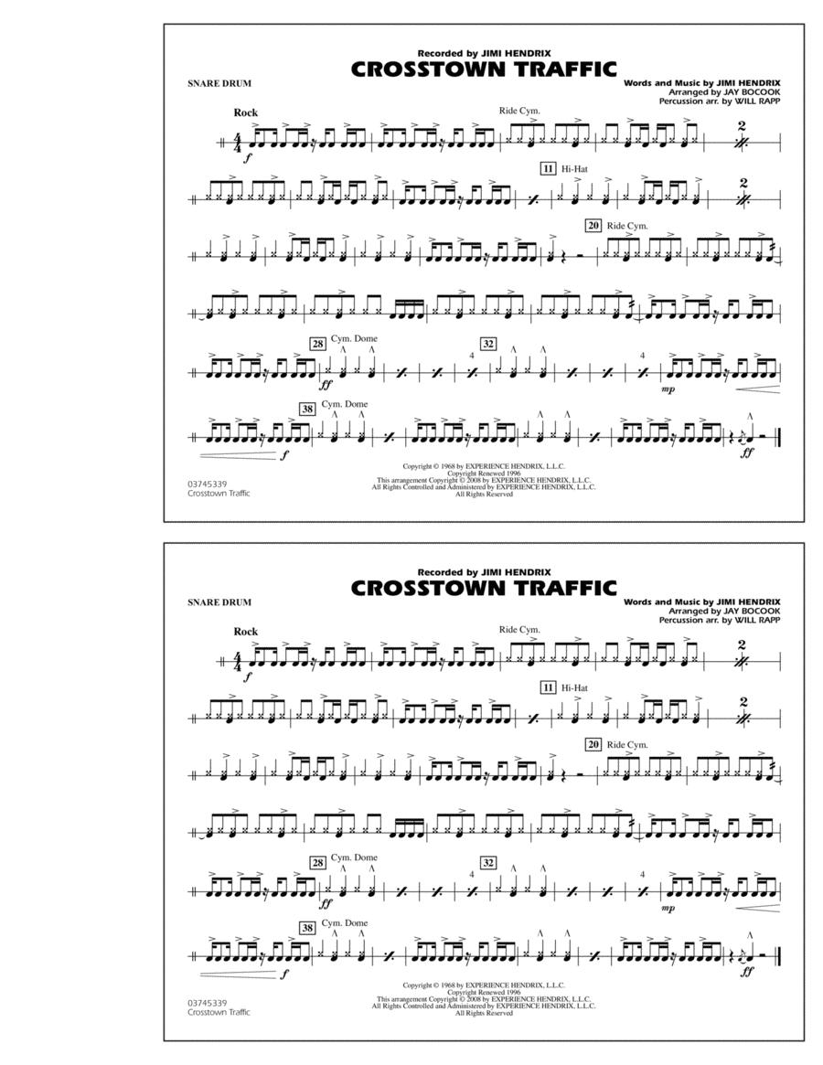 Crosstown Traffic - Snare Drum