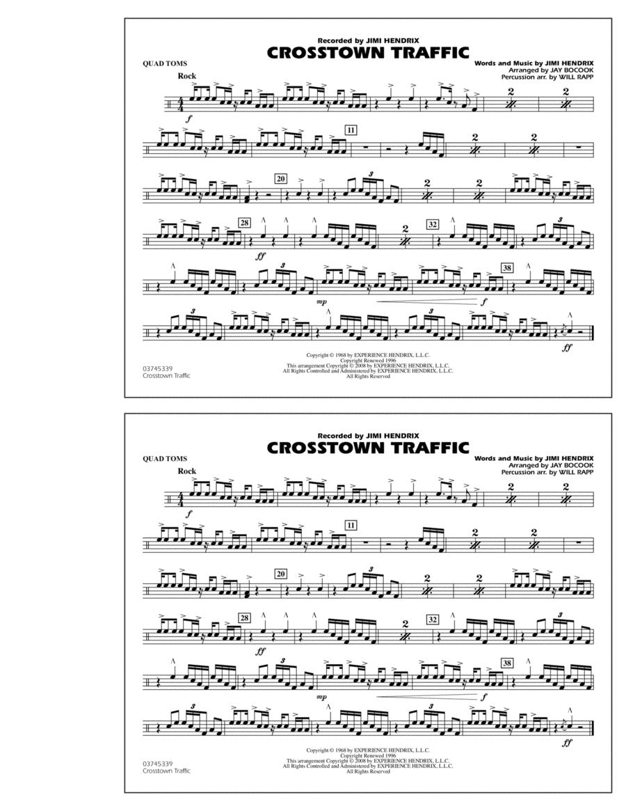Crosstown Traffic - Quad Toms