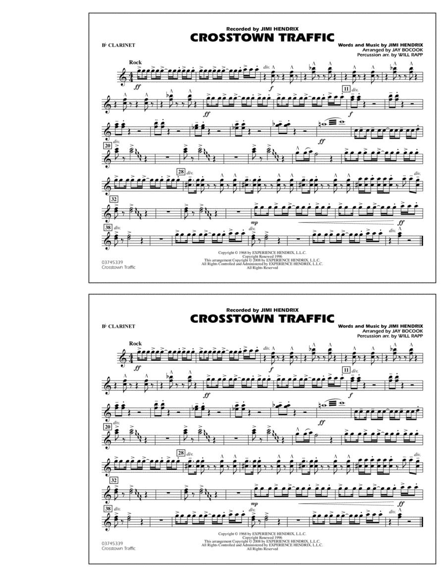 Crosstown Traffic - Bb Clarinet