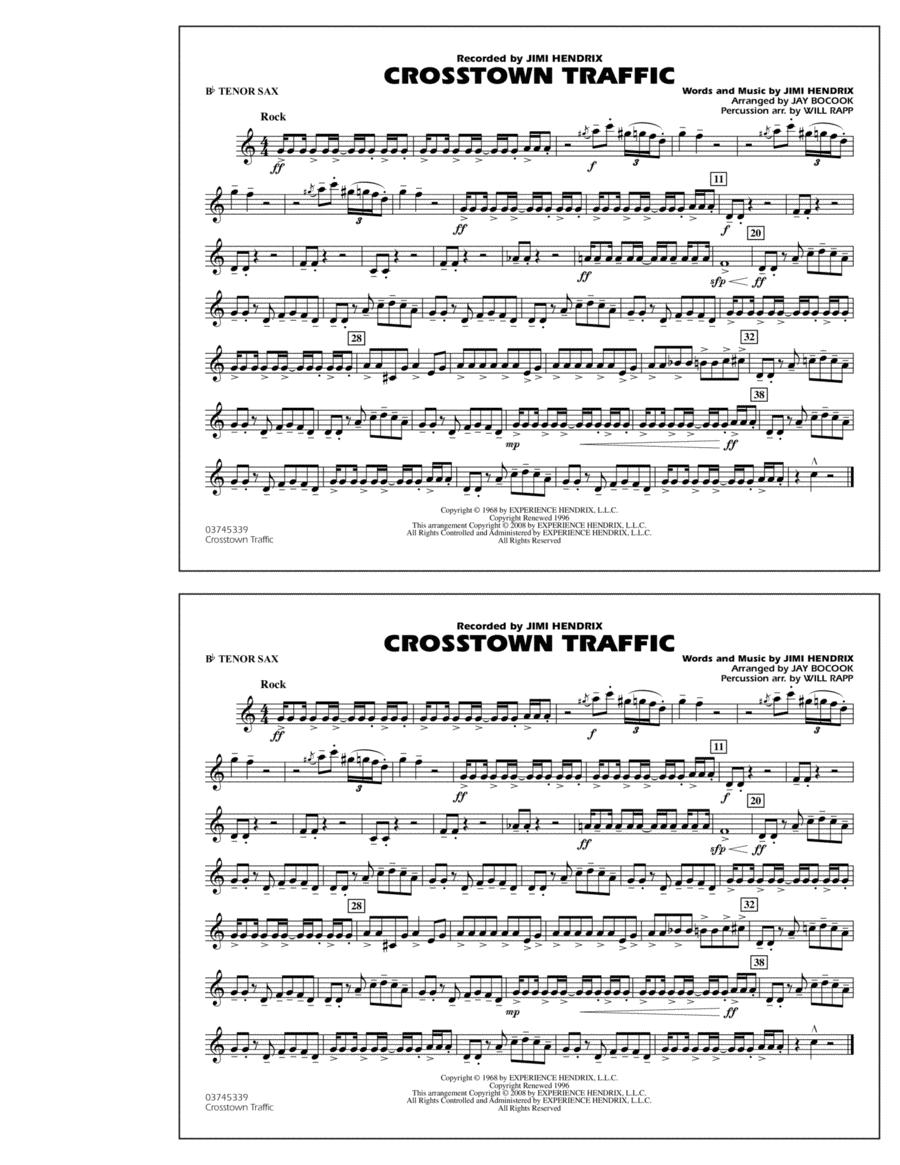 Crosstown Traffic - Bb Tenor Sax