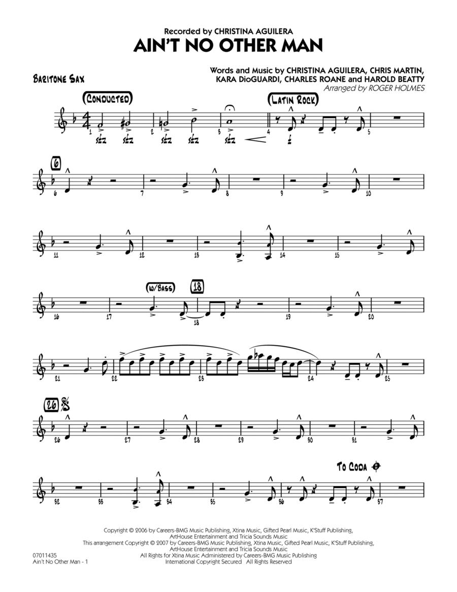 Ain't No Other Man - Baritone Sax