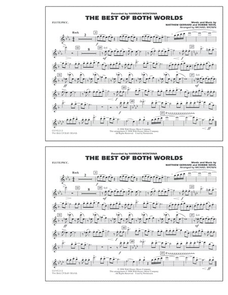 The Best Of Both Worlds - Flute/Piccolo