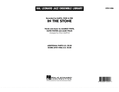 In The Stone - Full Score
