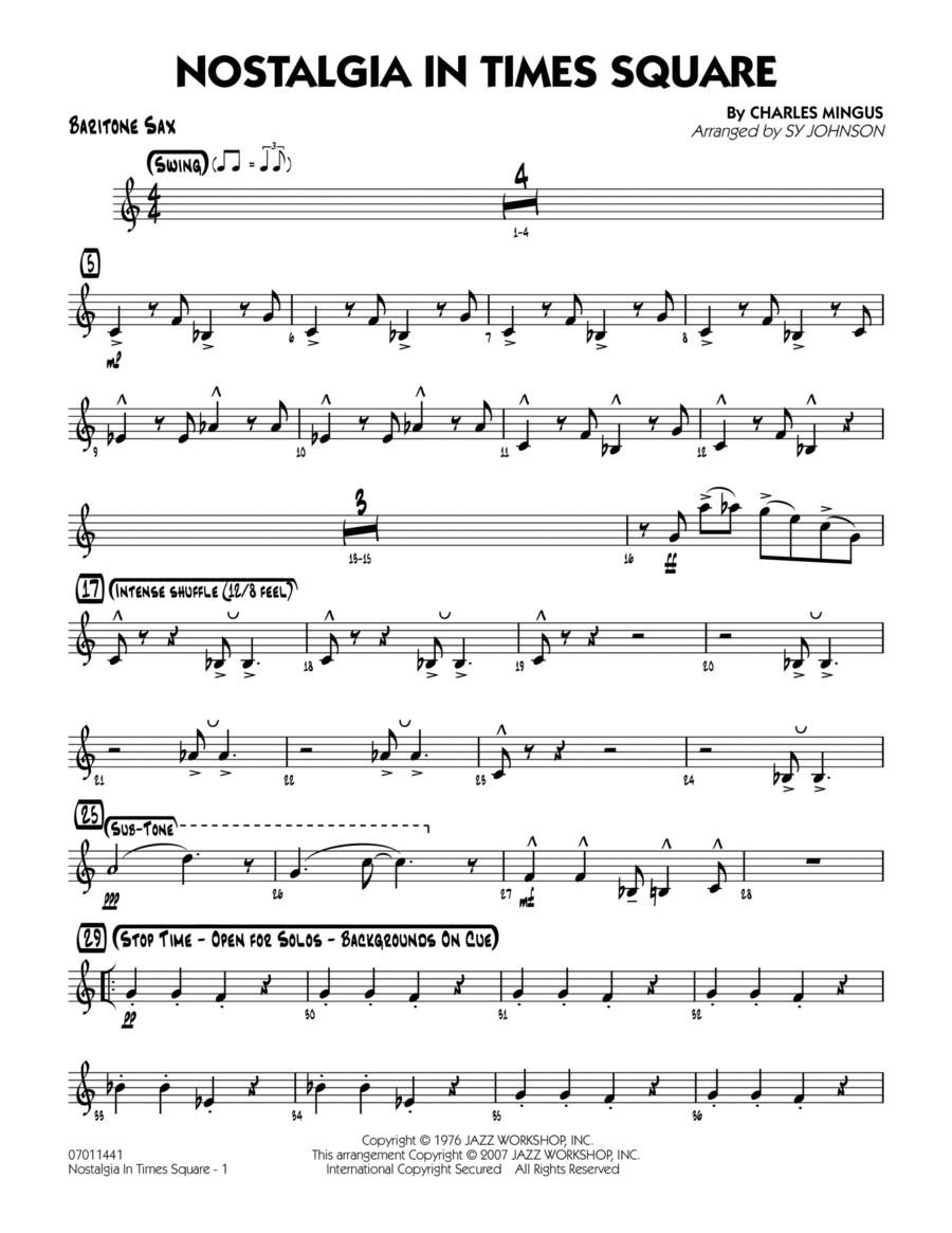 Nostalgia In Times Square - Baritone Sax