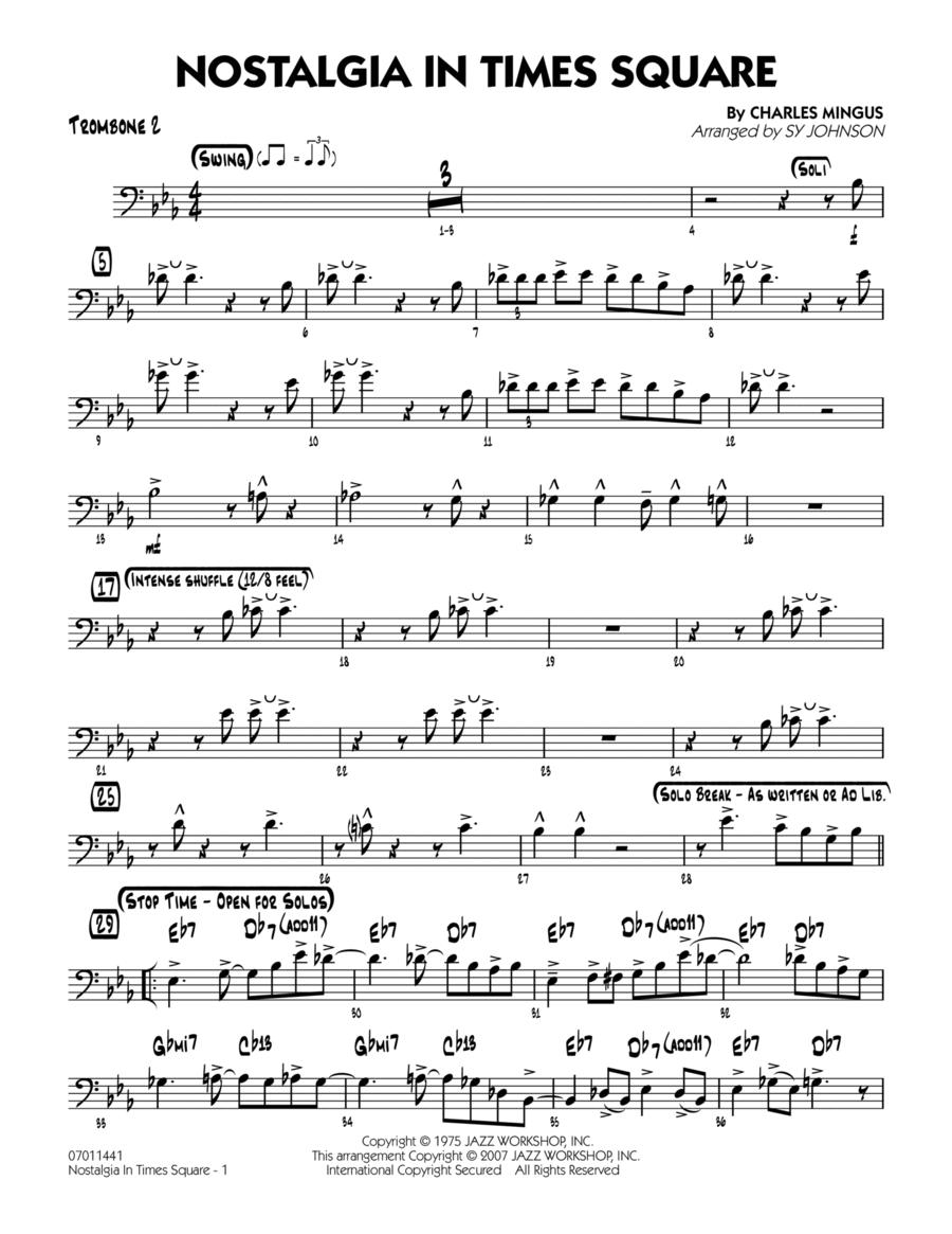 Nostalgia In Times Square - Trombone 2