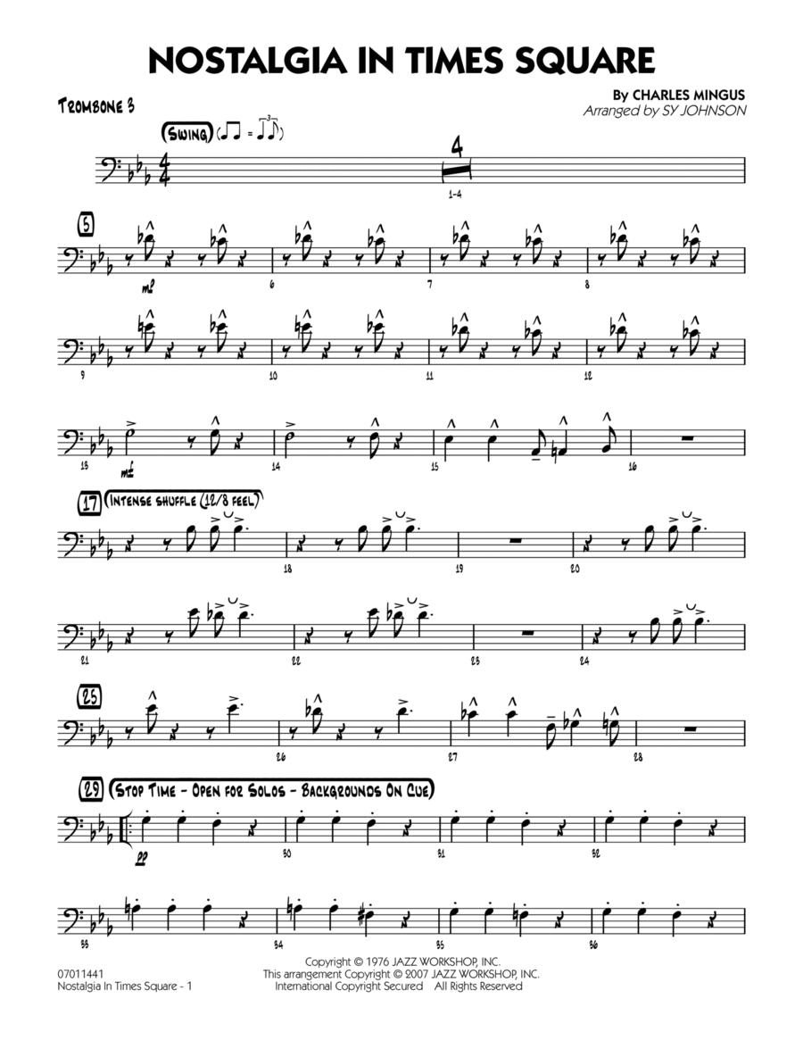 Nostalgia In Times Square - Trombone 3