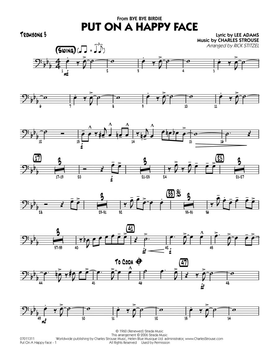 Put On A Happy Face - Trombone 3