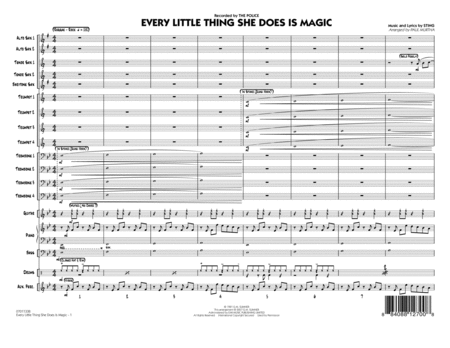 Every Little Thing She Does Is Magic - Full Score