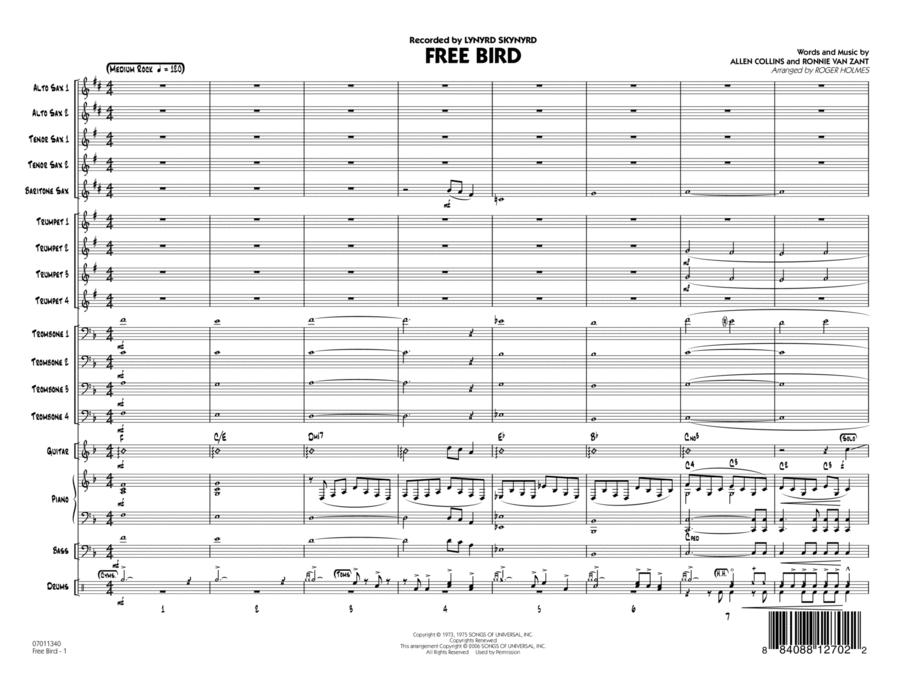 Free Bird - Full Score