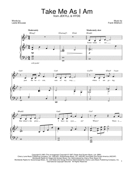 once upon a dream jekyll and hyde sheet music pdf