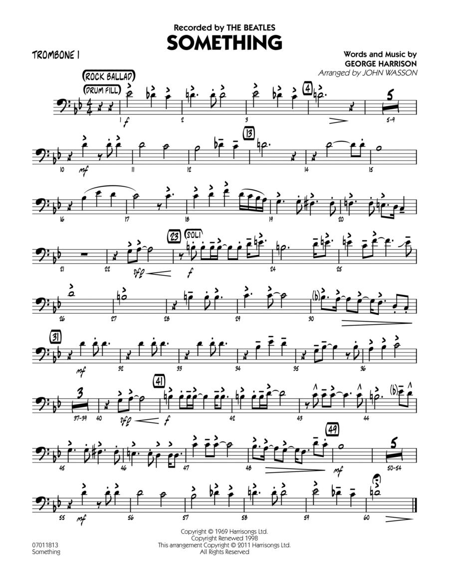 Something - Trombone 1