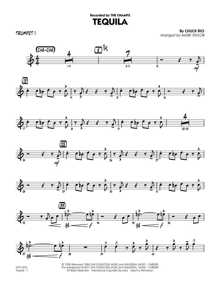 Tequila - Trumpet 1