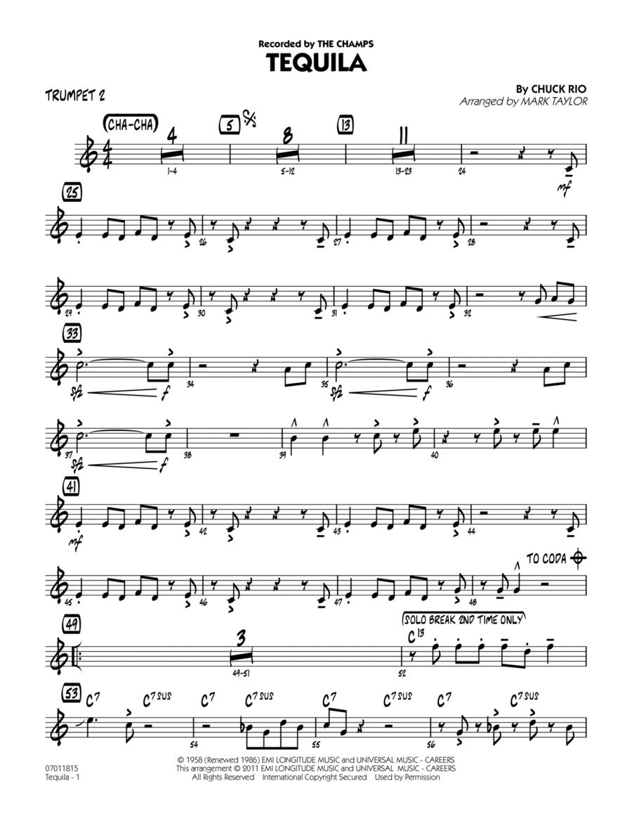 Tequila - Trumpet 2