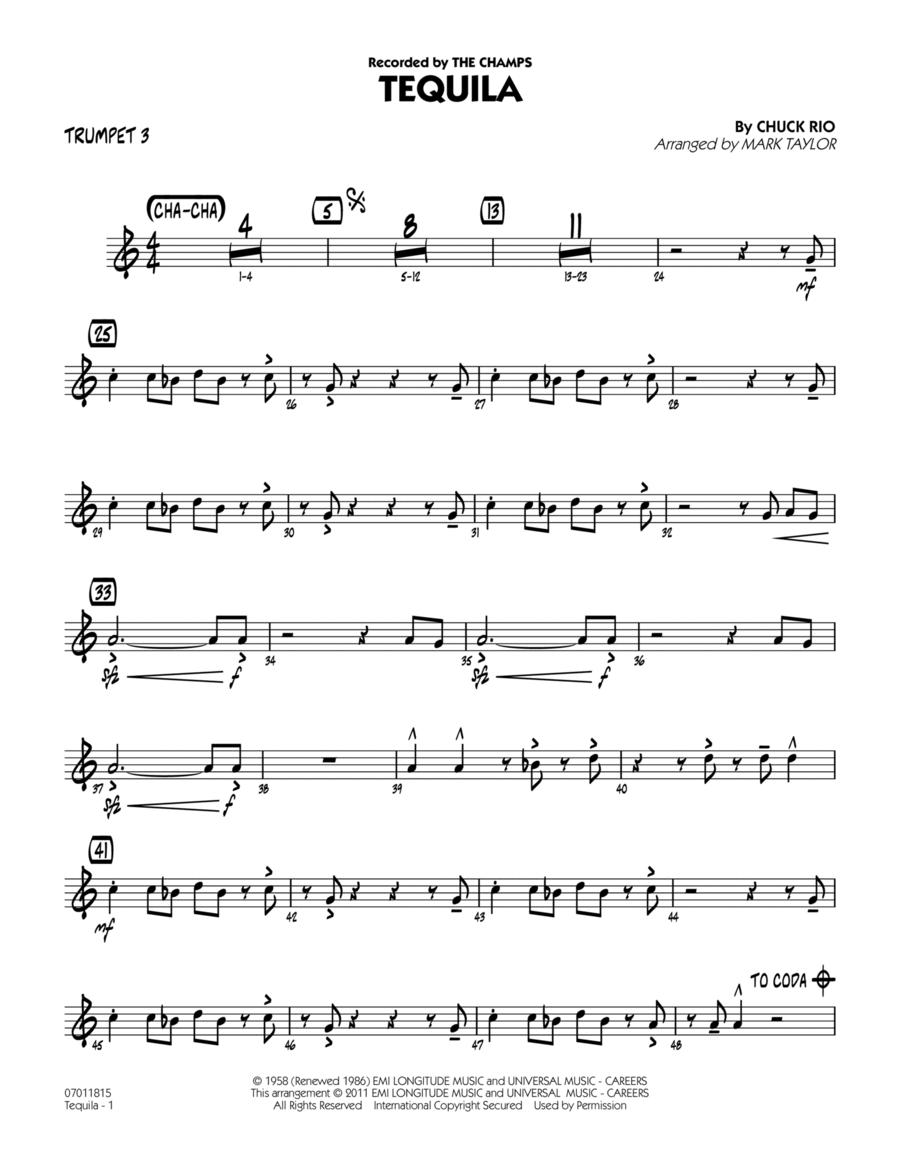 Tequila - Trumpet 3