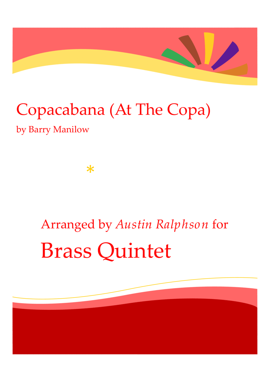 Copacabana (At The Copa) - brass quintet