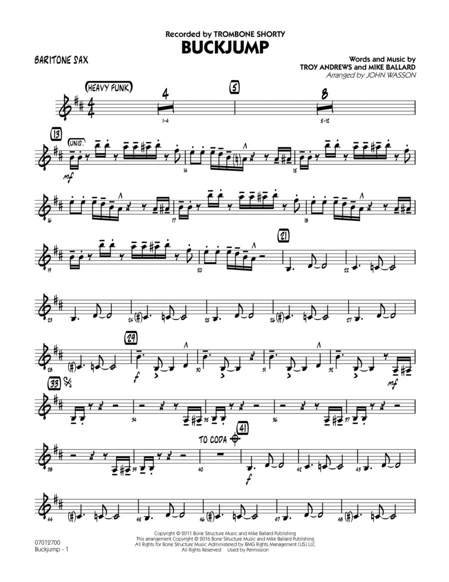 Buckjump - Baritone Sax