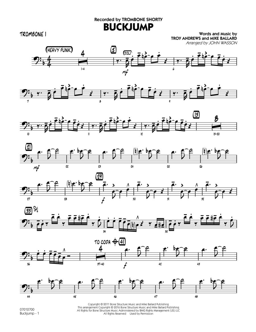 Buckjump - Trombone 1