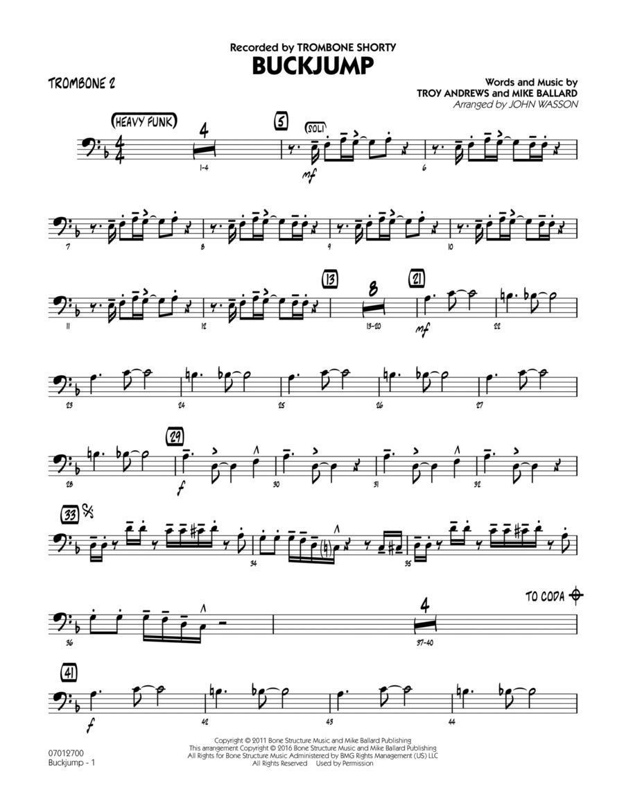 Buckjump - Trombone 2
