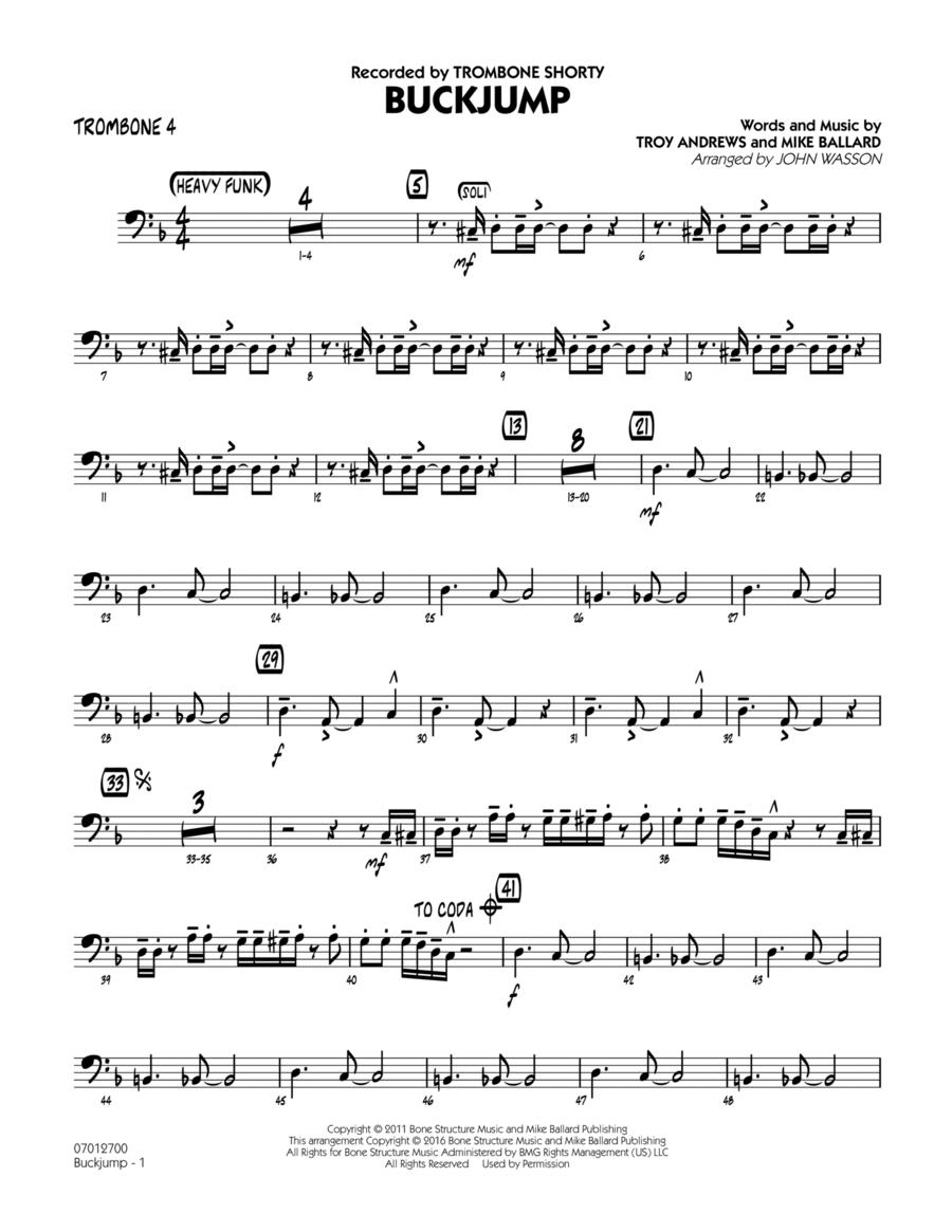 Buckjump - Trombone 4