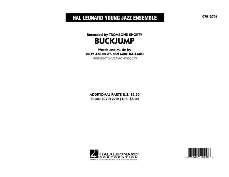 Buckjump - Conductor Score (Full Score)