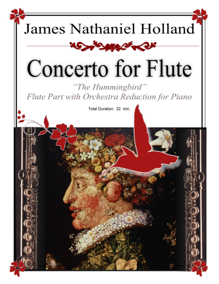 Flute Concerto The Hummingbird Piano Reduction and Flute Part