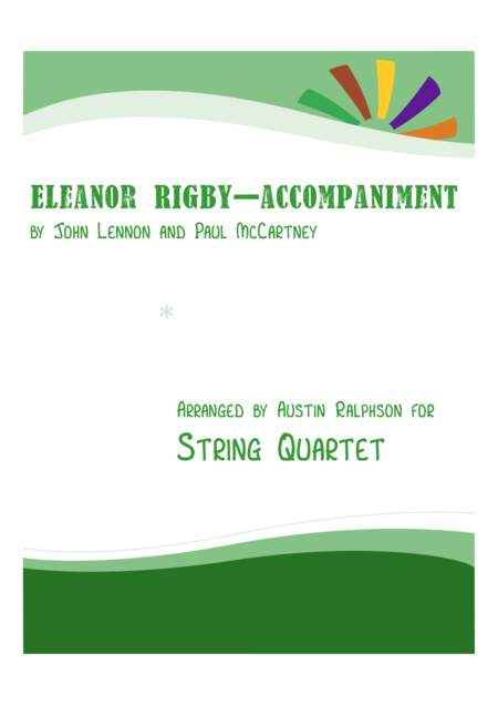 Eleanor Rigby accompaniment only - string quartet / string orchestra