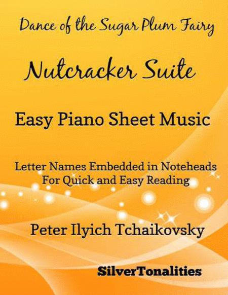 Dance of the Sugar Plum Fairy Easy Piano Sheet Music