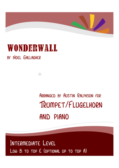 Wonderwall - trumpet / flugelhorn and piano